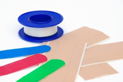 Pflaster - Adhesive plaster 04
