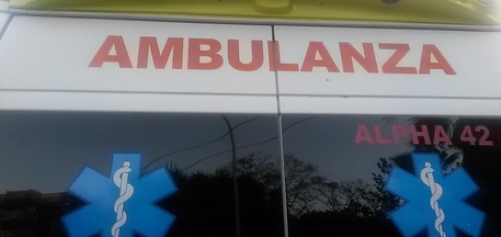 Ambulanza scritta
