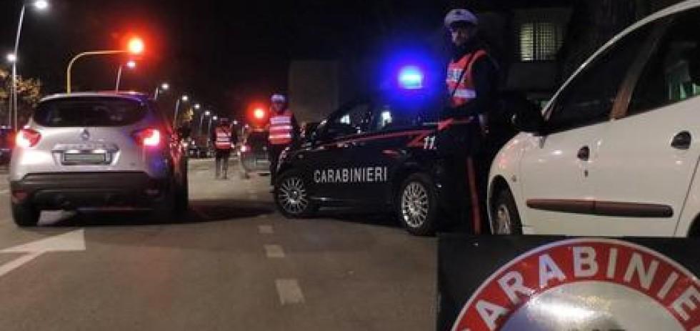 Carabinieri: posto di blocco