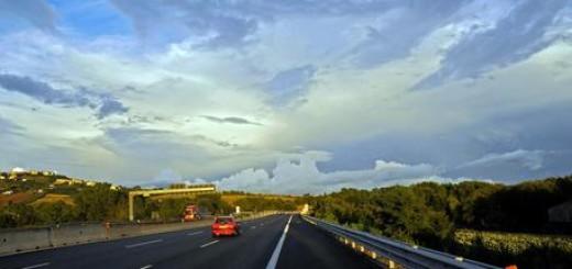 Meteo: nubi su A14
