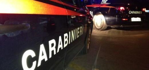 Auto carabinieri in notturna