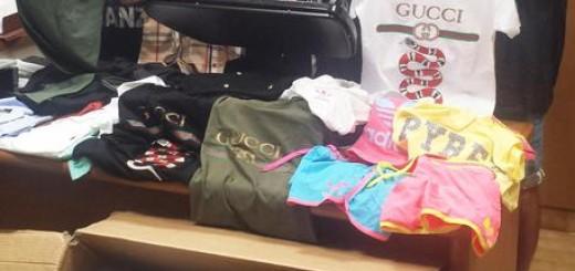 Contrasto ai traffici illeciti a Porto Recanati, GdF sequestra oltre 1.300 articoli contraffatti