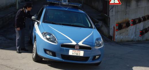 Ancona, auto della Polizia