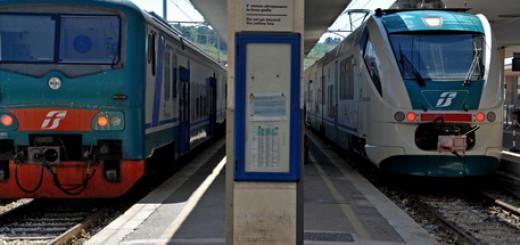 Treni fermi in stazione