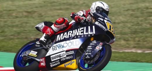 Italian pilot Romano FenatiMarinelli Snipers Team Moto 2 du