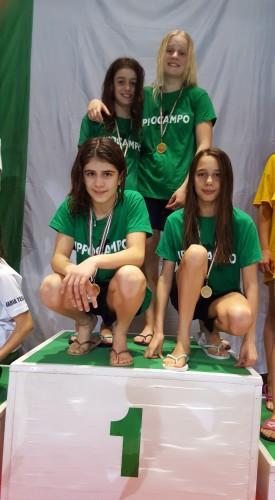 oro-4x100-stile-libero-femminile-azzurra-renzi-diamante-straccia-emma-acciarini-lucia