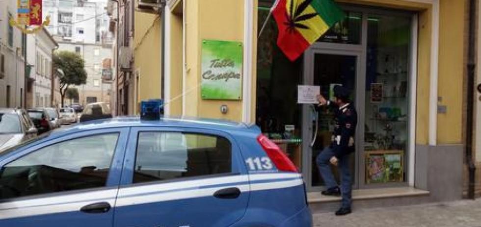 Questore Macerata chiude due Cannabis shop