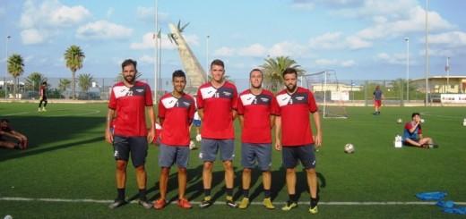 Da sinistra: Santoro, Galdenzi, Pistelli, Ribichini, Ferrari.