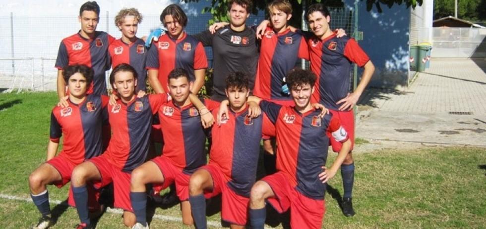 Nella foto (da sinistra) in piedi:  Doda, Pigliacampo, Campolungo, Elisei,  Giordani, Pagnanini; in basso: Sorichetti, Nepa, Maggini, Micucci, Marcelli.