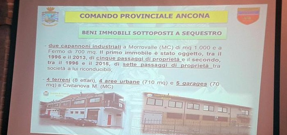 Fisco: La Guardia di Finanza di Ancona sequestra beni immobili